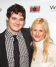 Benjamin Walker and Mamie Gummer