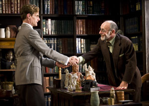 Mark H. Dold and Martin Rayner in Freud's Last Session (© Kevin Sprague)