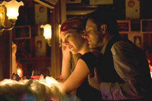 Lily Rabe and Josh Hamilton in A Doll's House
