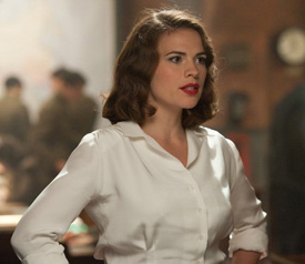 Hayley Atwell in Captain America