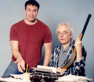 Craig Bachmann and Austin Pendleton in Chekhov's Rifle(Photo © Nick Andrews)