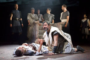 Greg HIcks, Darrell D'Silva (foreground)