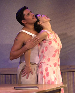 Dale Rivera and Charin Alvarezin Anna in the Tropics(Photo © Liz Lauren)
