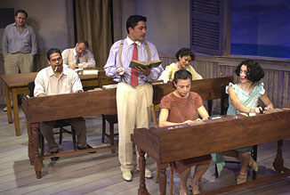 The cast of Anna in the Tropics(Photo © Liz Lauren)