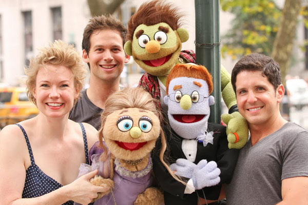 Front:Jennifer Barnhart, Kate Monster, Rod, Howie Michael Smith