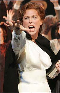 Carolee Carmello in Saving Aimee