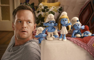 Neil Patrick Harris in The Smurfs (© Sony Pictures Entertainment)