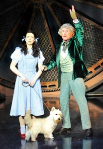Danielle Hope and Michael Crawford
