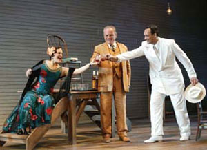Anna goes to Princeton: Priscilla Lopez, Victor Argo,and Jimmy Smits in the McCarter Theatre production