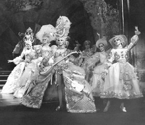 "The ""Loveland"" sequence of Follies(Photo © Martha Swope)"