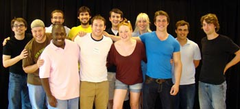 The touring company of The Taming of the Shrew