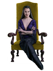 Brooke Shields as Morticia