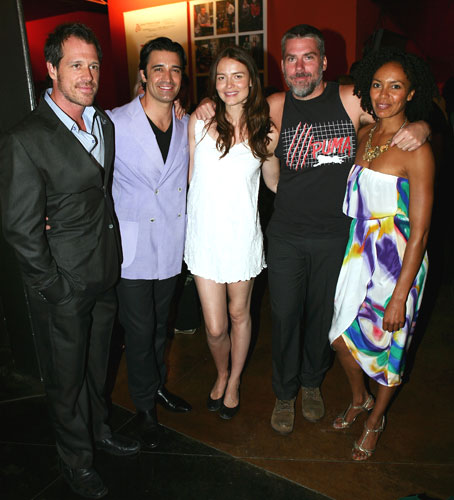 Darren Pettie, Gilles Marini, Saffron Burrows, Glenn Fitzgerald and Eisa Davis