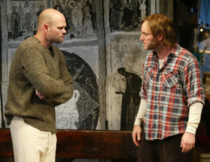 Chris Bauer and Clark Gregg in The Night Heron(Photo © Carol Rosegg)
