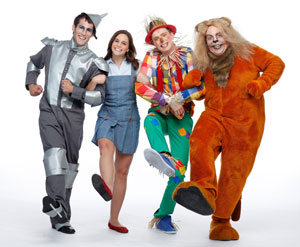Yvan Pedneault, Elicia MacKenzie, Kyle Blair, and Eddie Glen