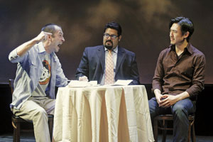 Jeff Binder, Mando Alvarado, and James Chen