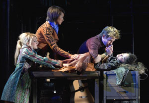 Annaleigh Ashford, Corbin Reid, Matt Shingledecker,