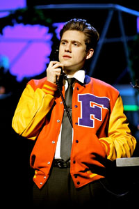 Aaron Tveit inCatch Me If You Can