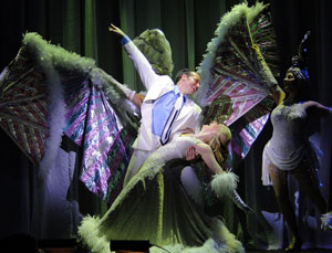 Matt Loehr and Vanessa Sonon in Crazy for You