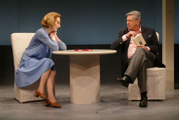 Marian Seldes and Brian Murray in Beckett/Albee(Photo © Carol Rosegg)