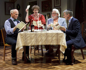 Dan Butler, Marcia Jean Kurtz, Richard Masur, and