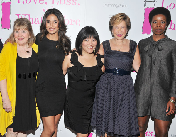 Marylouise Burke, Emmanuelle Chriqui, Ann Harada, Yeardley Smith, and Roslyn Ruff