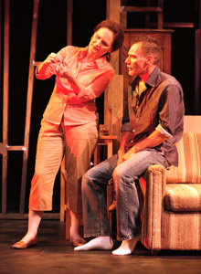 Beth Grant and Peter Bradbury