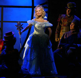 If you knew Glinda: Kristin Chenoweth in Wicked(Photo © Joan Marcus)