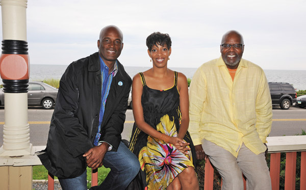 Kenny Leon, Lydia R. Diamond, and Reuben Cannon