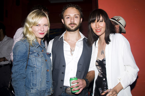 Kirsten Dunst, James Kautz, and Karen O