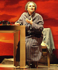 Tovah Feldshuh in Golda's Balcony(Photo © Aaron Epstein)