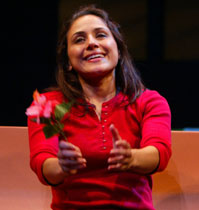 Zilah Mendoza in Living Out (Photo © Joan Marcus)