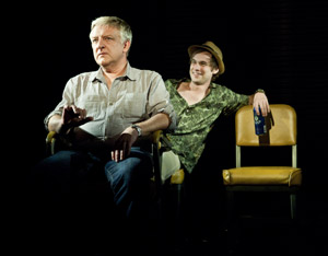 Simon Russell Beale and Tobias Segal in Bluebird