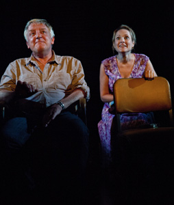 Simon Russell Beale and Kate Blumbergin Bluebird