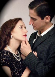 Abby Royle and Darrell Glasgow in Noir