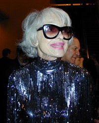 Carol Channing(Photo © Michael Portantiere)