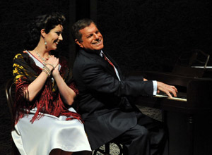 Laura Hodos and Mike Burstyn