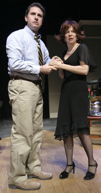 "Remy Auberjonois and Susan Greenhillin ""The Guest Lecturer""(Photo © James Leynse)"