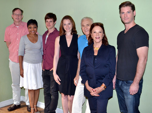 Mark Brokaw, Brenda Pressley, Michael Esper, Kate Jennings Grant, Dick Latessa,