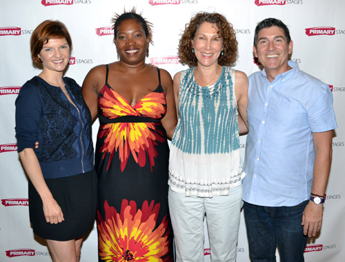 Mary Bacon, Saidah Arrika Ekulona, Randy Graff, and James Lecesne