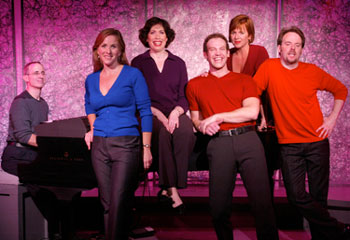 David Friedman and the cast of Listen To My Heart(Photo © Carol Rosegg)