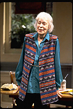 Eileen Heckart,star of The Waverly Gallery