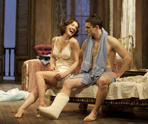 Moya O'Connell and Gray Powell