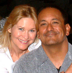 Dee Wallace Stone and Ruben Garfias inIs It Hot in Here...or Is It Me?(Photo © Scotty Martin)