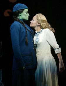 Idina Menzel and Kristin Chenowethin Wicked(Photo © Joan Marcus)