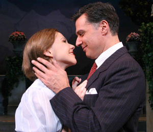 Amanda Watkins and Robert Cuccioli in The Sound of Music(Photo © Gerry Goodstein)