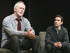 John Lithgow and Ben Chaplin in The Retreat from Moscow(Photo © Joan Marcus)