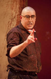 Alfred Molina in Red