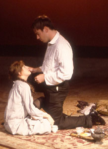 Glenn Fitzgerald and Kate Wetherheadin Tatjana in Color(Photo &copy; Elizabeth Singer)