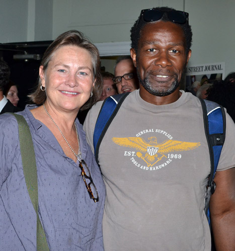 Cherry Jones and John Douglas Thompson
